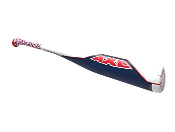 "Axe Bat 2018 Limited Edition Mookie- MB50 (-10) Baseball Bat, Red/White/Navy, 27""/17 oz"