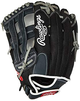 Rawlings Renegade Series Baseball Glove, Right Hand, Slow Pitch Pattern, Basket-Web, 12 Inch